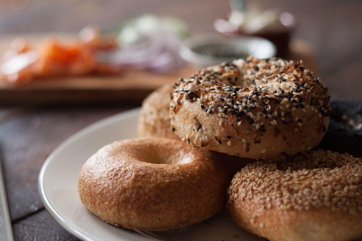 Alex Manley's bagels