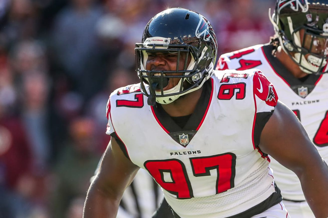 Falcons and DT Grady Jarrett agree to new deal just before deadline