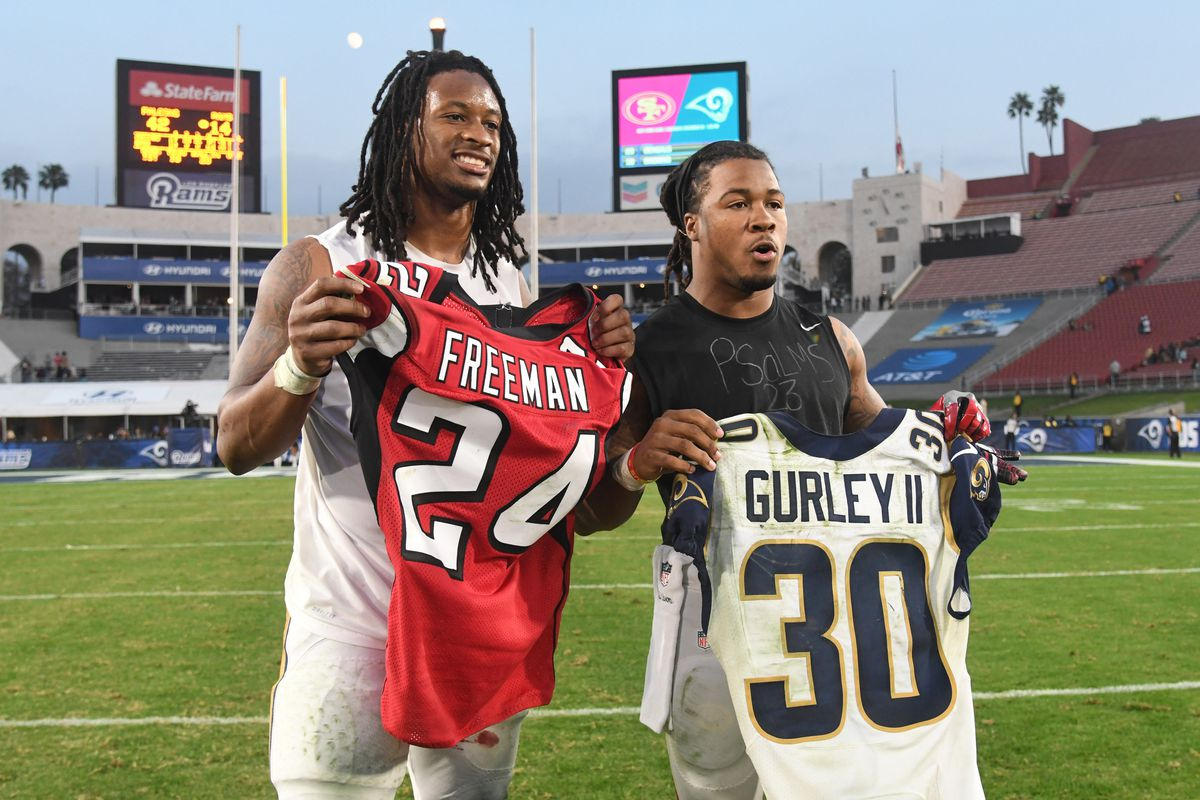 A 2019 comparison of Todd Gurley and Devonta Freeman - The Falcoholic