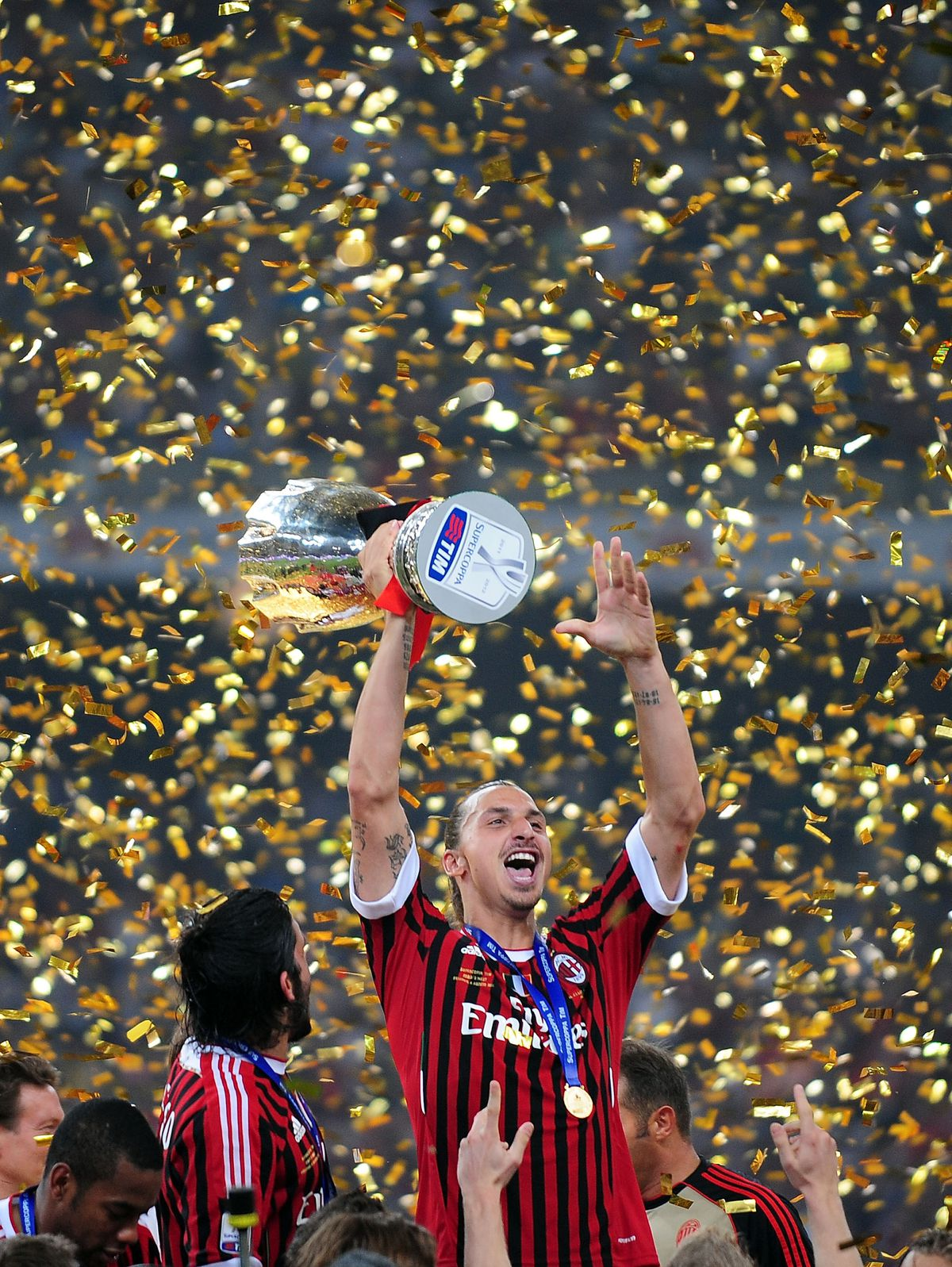 Image result for zlatan milan trophy