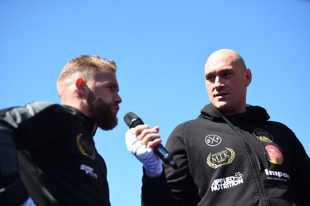Tyson Fury and Billy Joe Saunders Workout Session