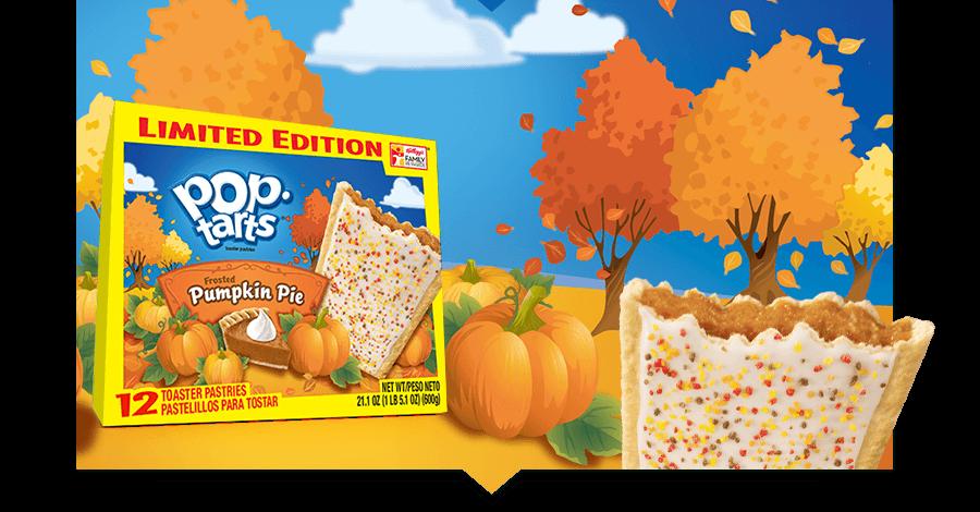 Pop-Tarts Frosted Pumpkin Pie