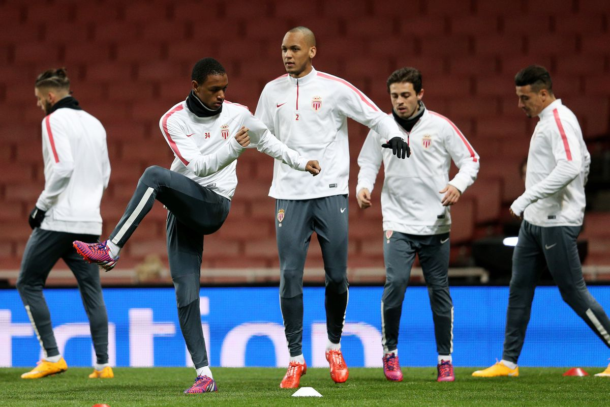 AS Monaco FC Training and Press Conference