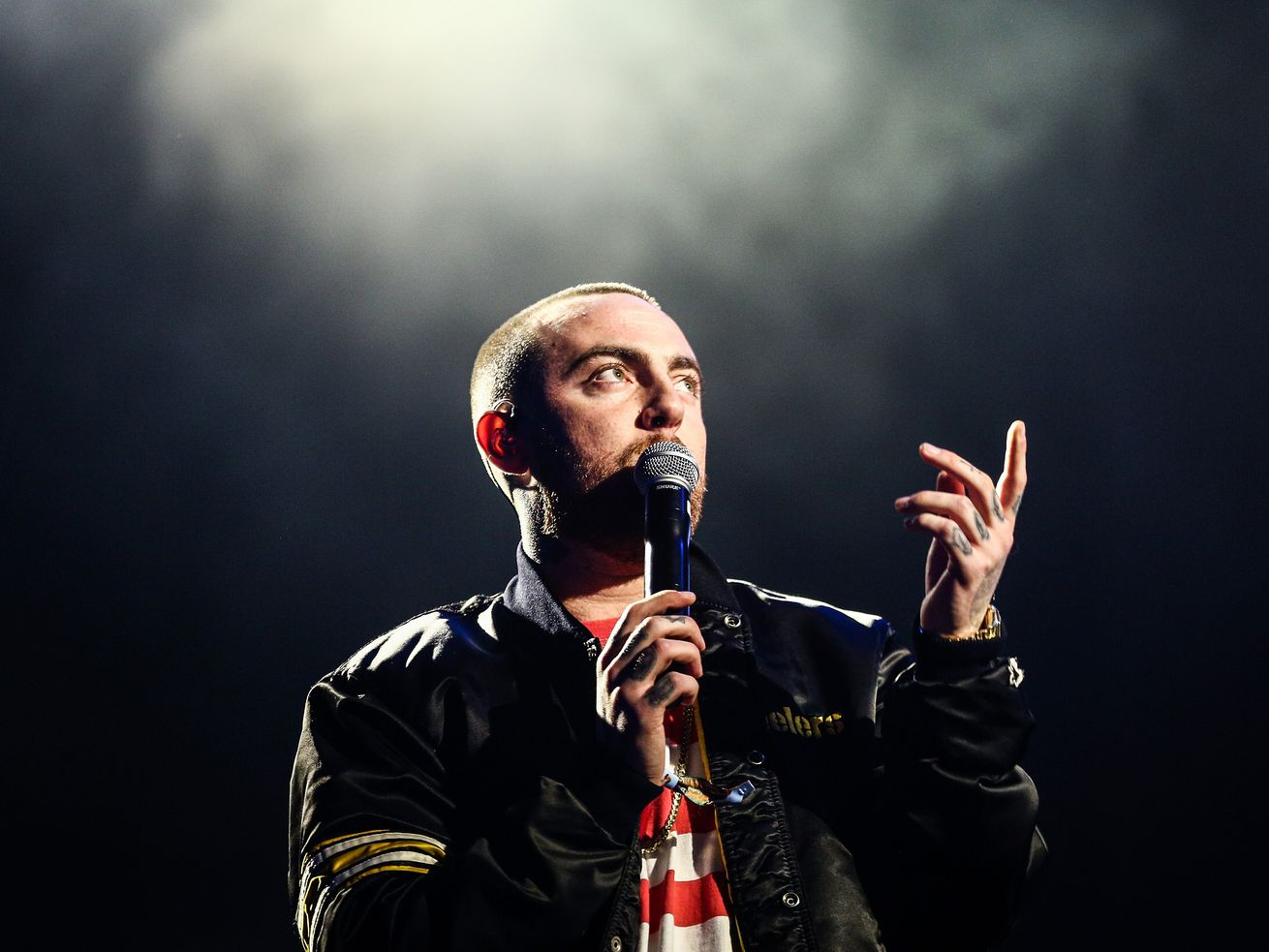 Mac Miller on October 28, 2017.