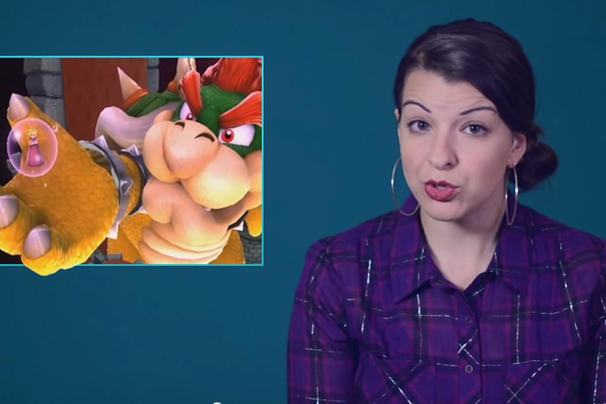 Anita Sarkeesian, host and writer of Feminist Frequency