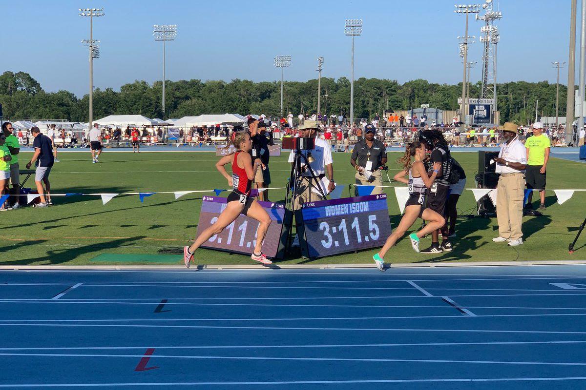 Maryland track Alex Lucki