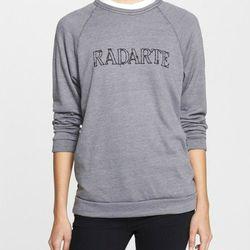 "Rodarte barbed wire print crewneck sweatshirt, <a href=""http://shop.nordstrom.com/s/rodarte-radarte-barbed-wire-print-crewneck-sweatshirt/3900068?origin=keywordsearch-personalizedsort&contextualcategoryid=0&fashionColor=&resultback=120&cm_sp=personalizeds"