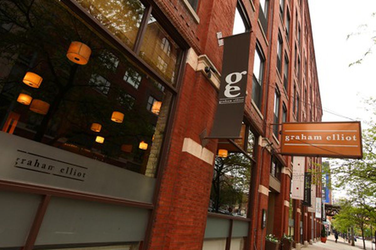 Graham Elliot might be the most notable shutter of 2013