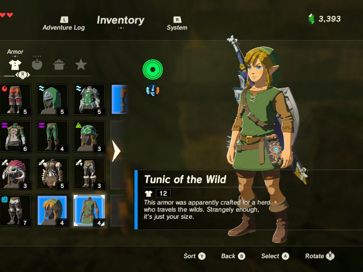 You Can Unlock Link S Classic Green Tunic In The Legend Of