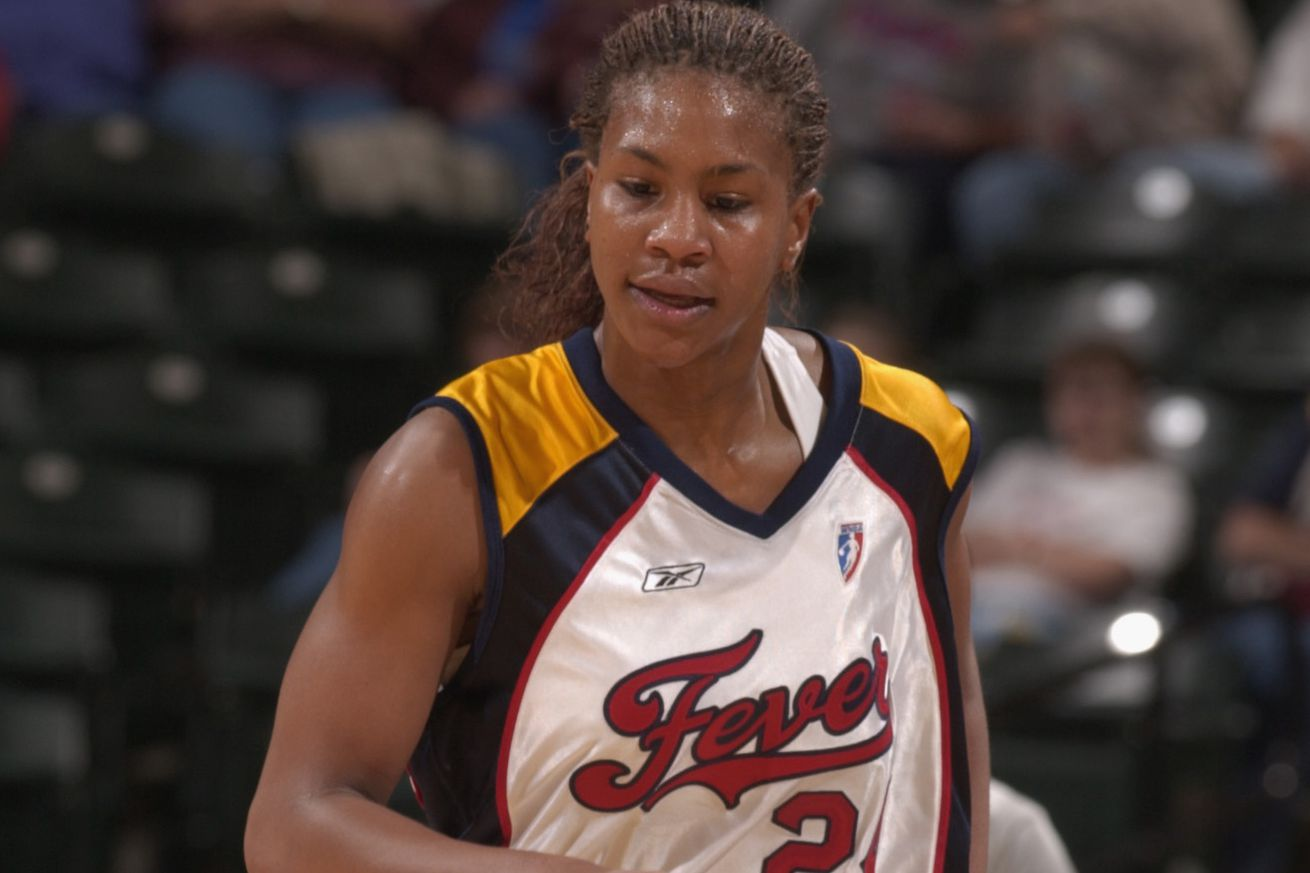 Catchings during a game