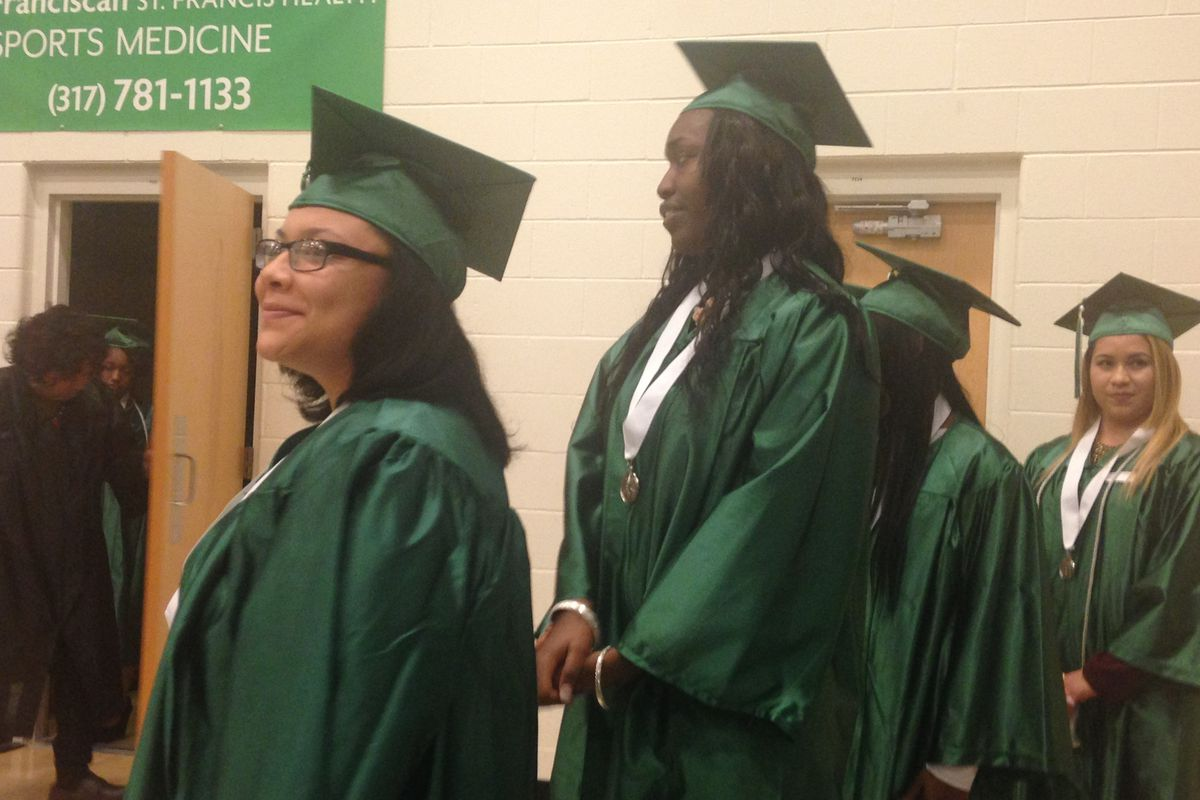 Nearly 200 students graduated from Excel Centers, a growing network of dropout recovery charters.