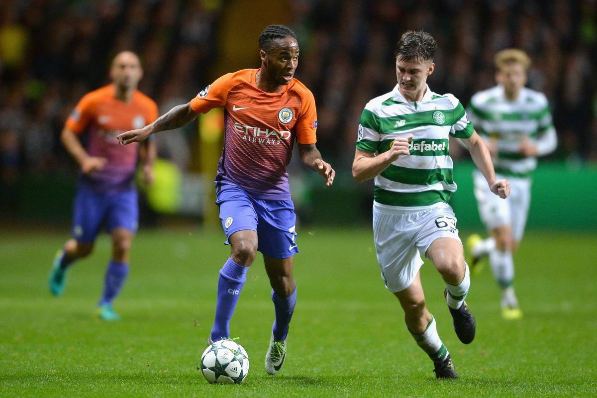 Celtic FC v Manchester City FC - UEFA Champions League