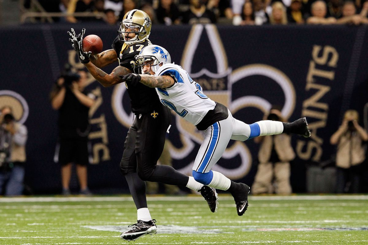 Aaron Berry gave the Lions good reason to cut him (Photo by Kevin C. Cox/Getty Images)