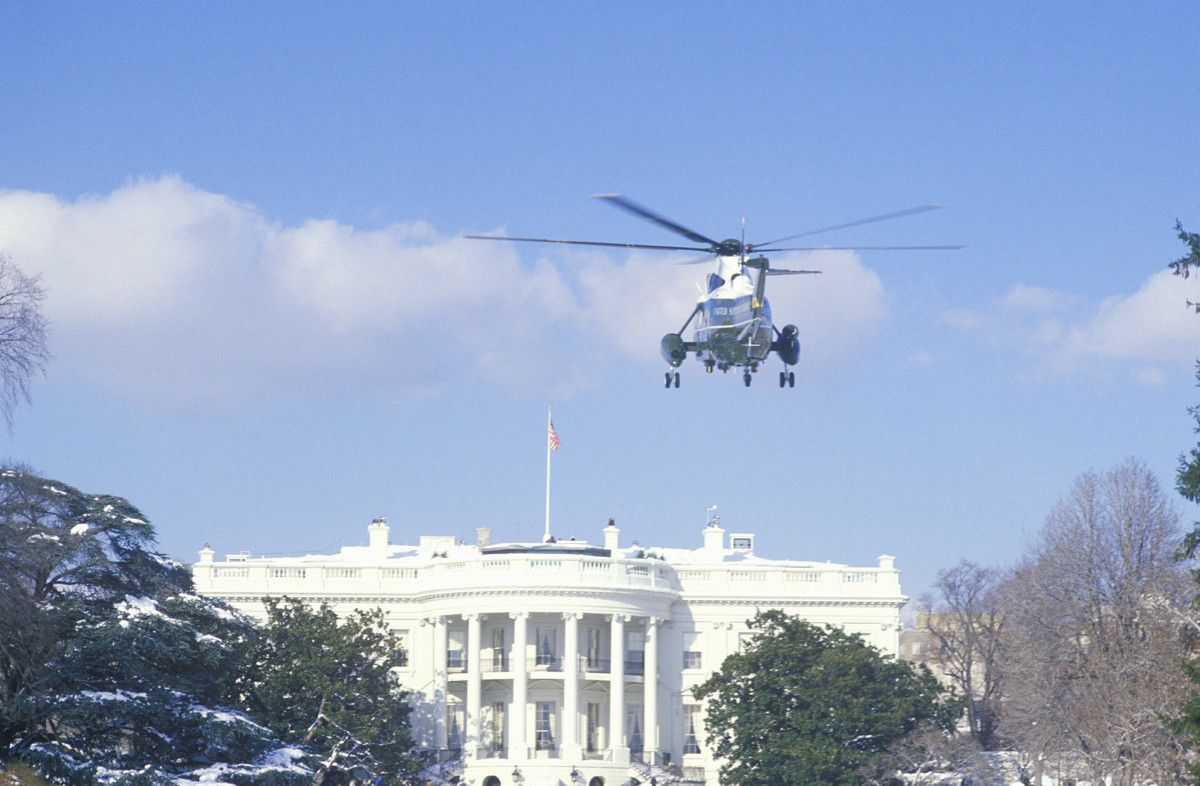 white house helicopter