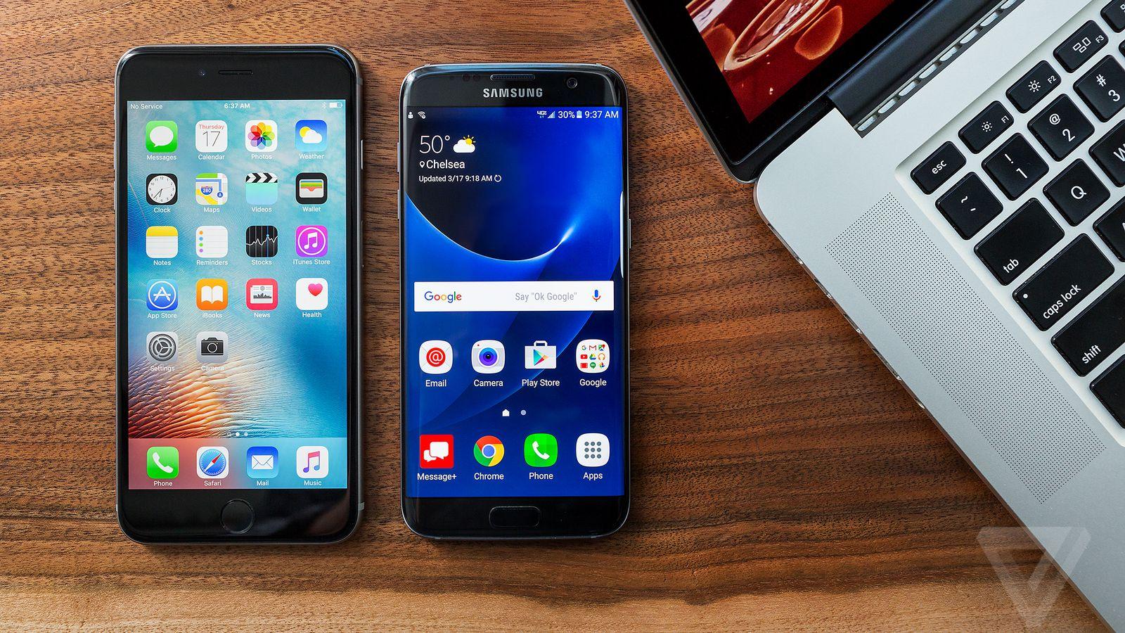 iphone 7 plus vs samsung galaxy s7 edge camera