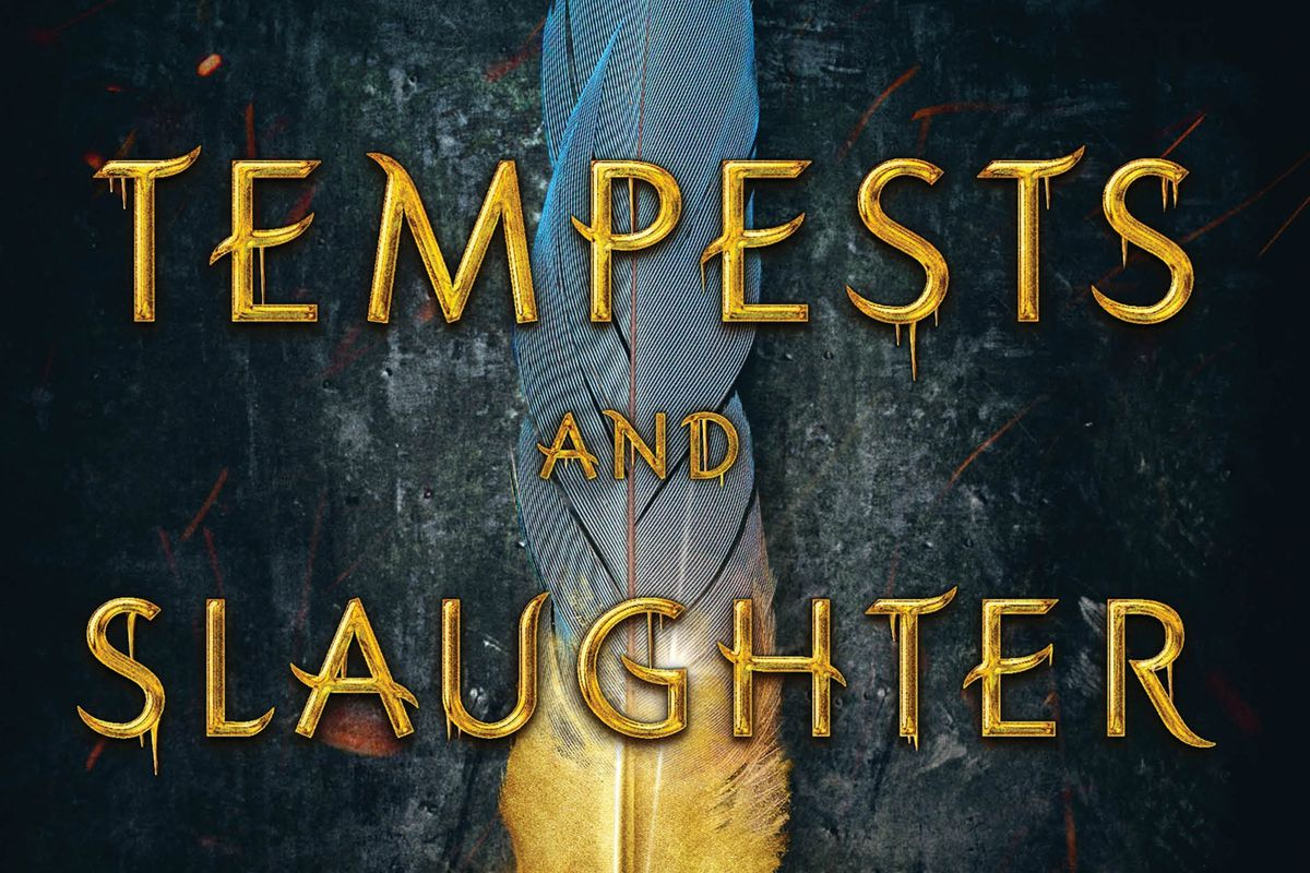 """""""Tempests and Slaughter"""" is by Tamora Pierce."""