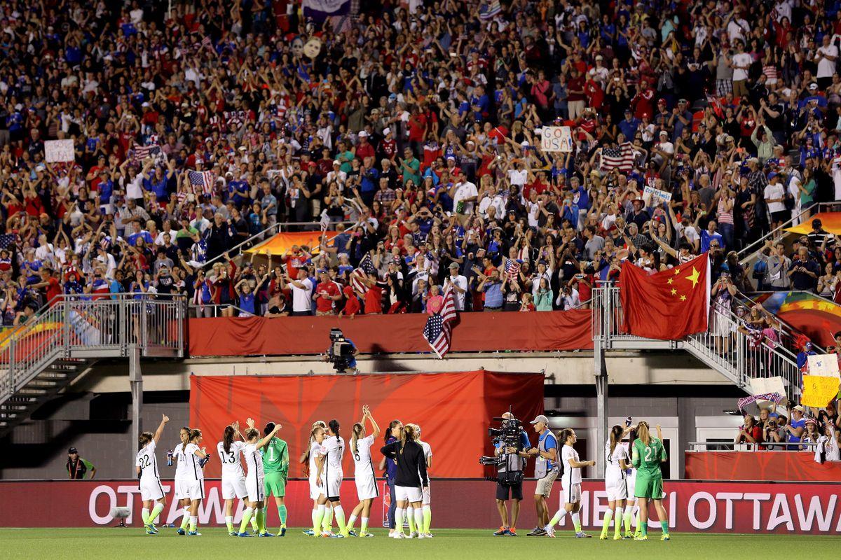 China v United States: Quarter Final - FIFA Women's World Cup 2015
