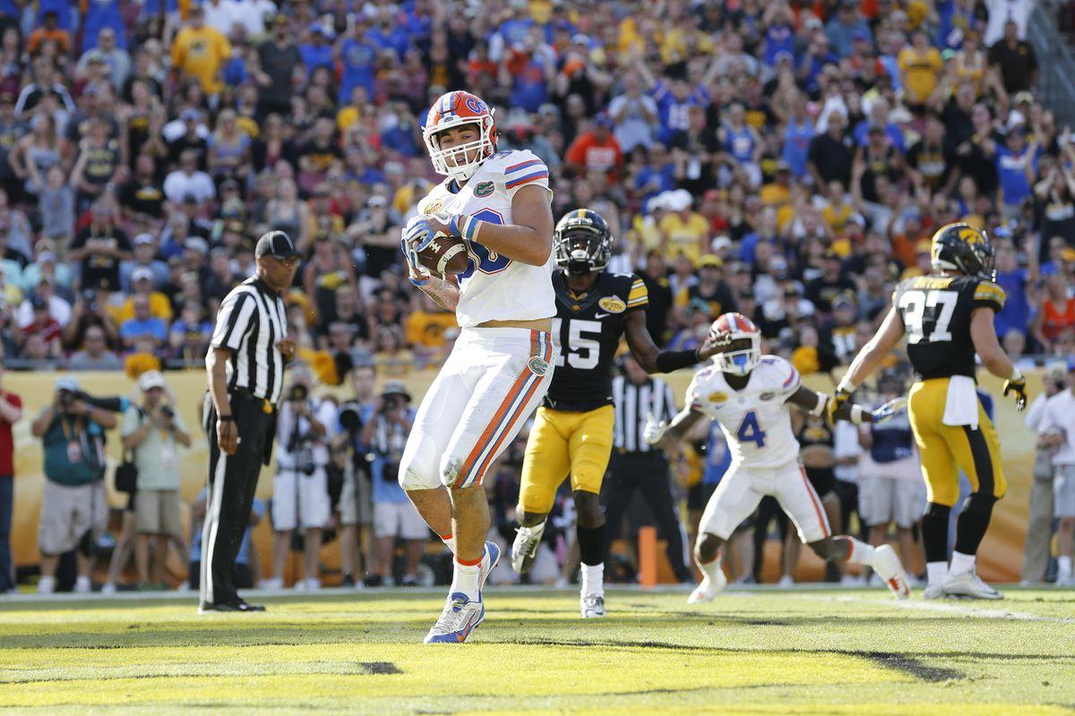 NCAA Football: Outback Bowl-Florida vs Iowa