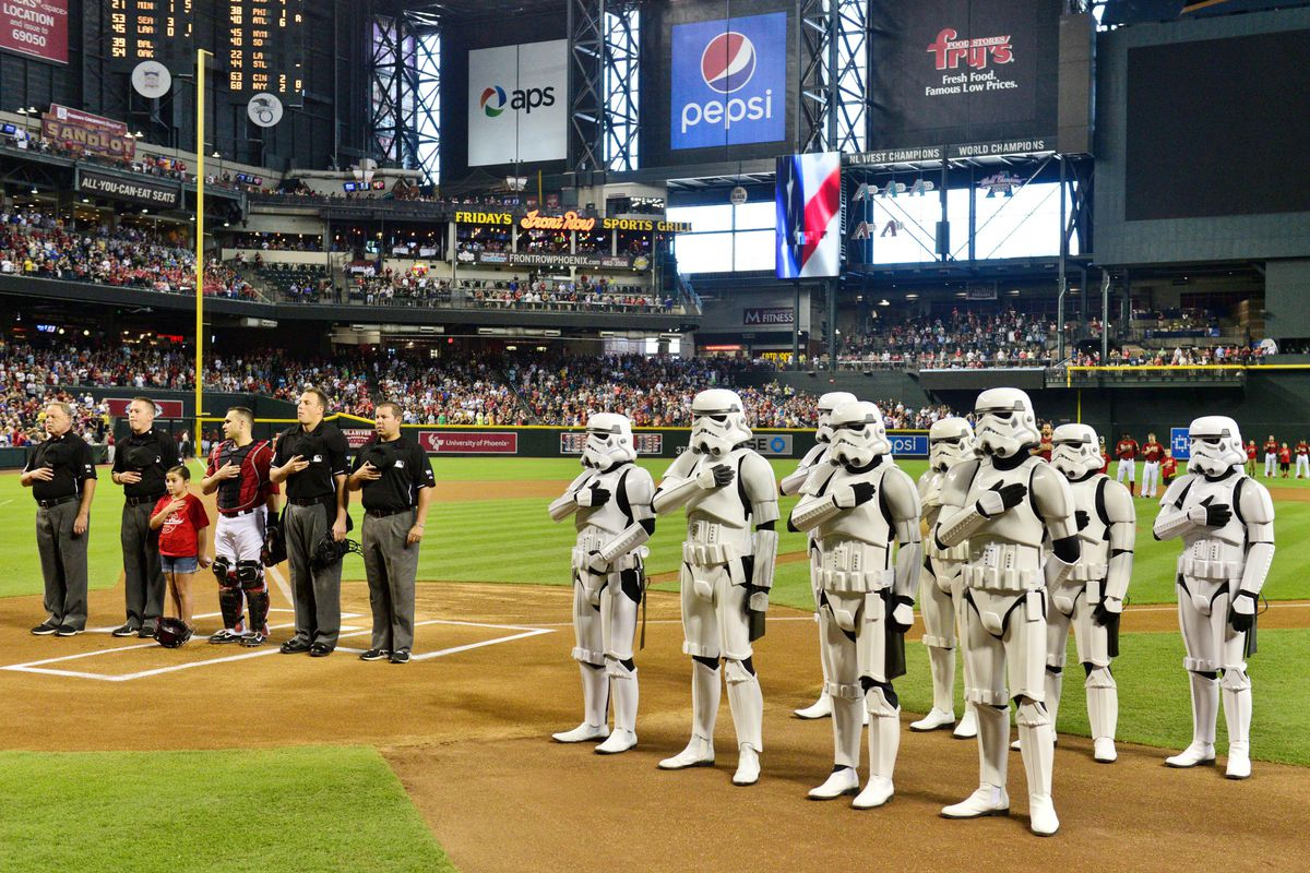 An entire LEGION of the Emperor's best troops awaits the Diamondbacks.