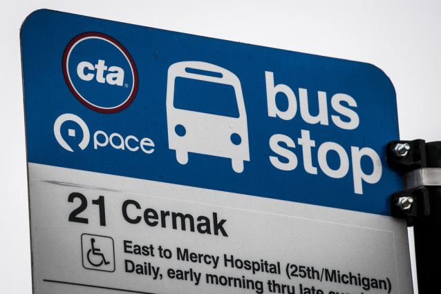 The CTA's No. 21 Cermak route had the most recent incident.