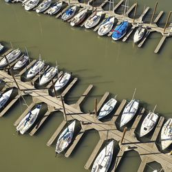 Boats are docked at the Great Salt Lake Marina on Wednesday, Oct. 28, 2020. A new study shows water conservation could put off the need for new water development by as long as 2065 and help save the dwindling Great Salt Lake.