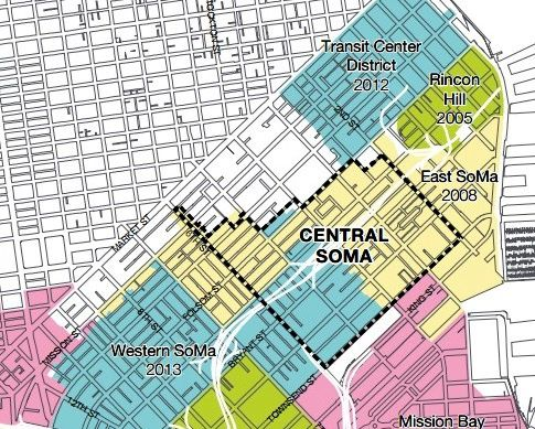 How The City Plans To Add 25 000 People To Central Soma Curbed Sf