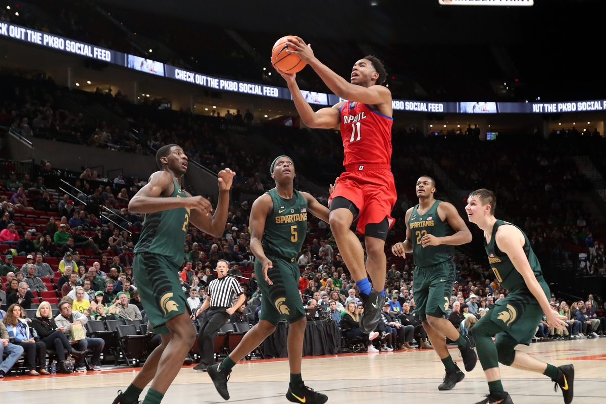NCAA Basketball: DePaul at Michigan State