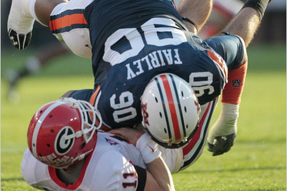 Game Preview And Open Thread 12 Auburn Vs 4 Georgia