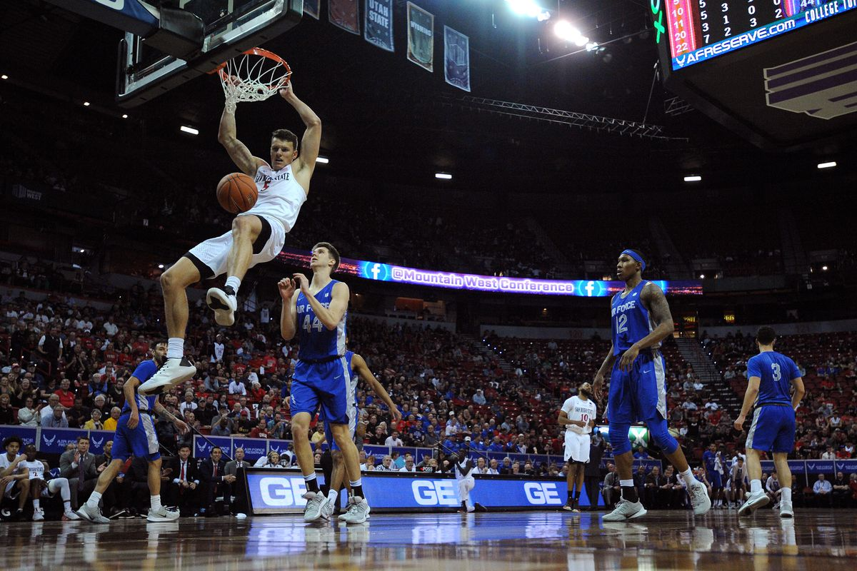 NCAA Basketball: Mountain West Conference Tournament- Air Force vs San Diego State