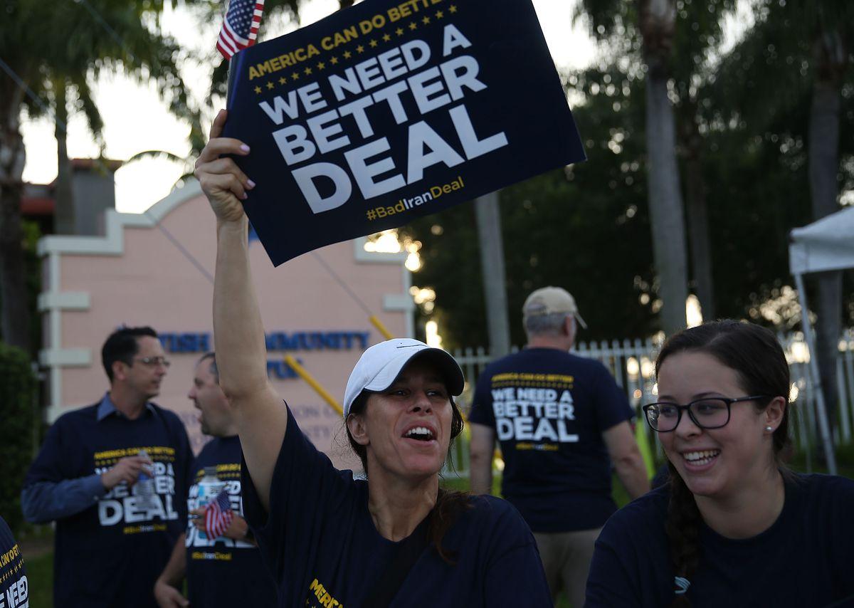 Vice President Biden Meets With Jewish Community Leaders In Davie, Florida