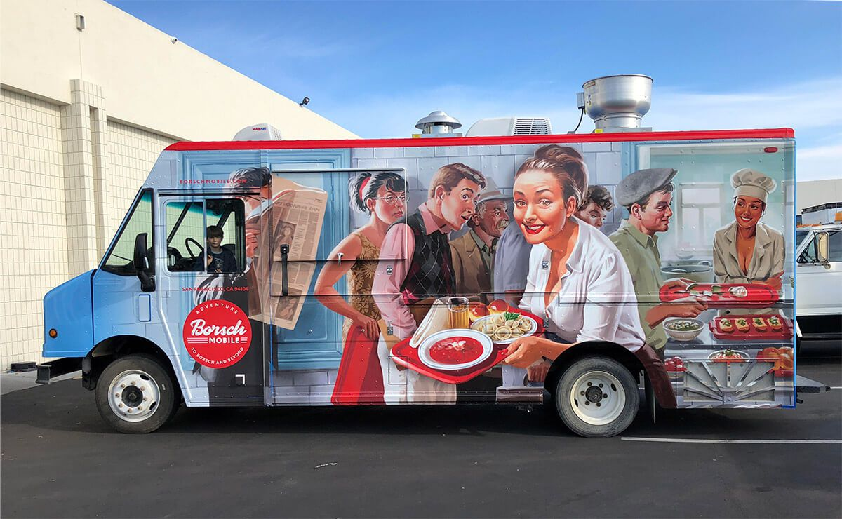 The Borsch Mobile food truck
