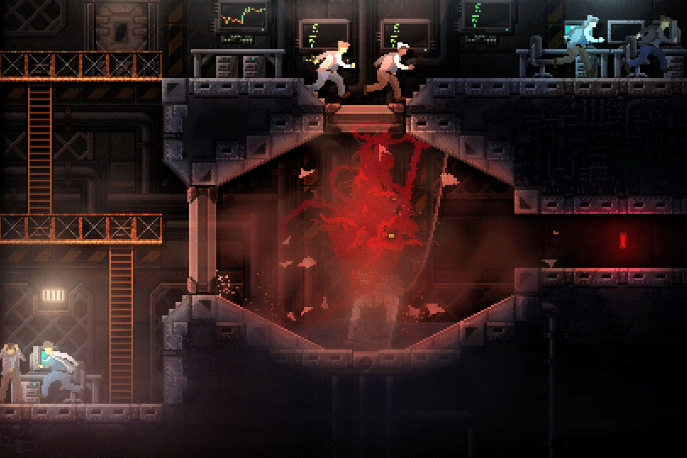 Carrion Is A Monstrous Slinky Game Of Evil Metroidvania Polygon