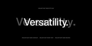 Behind the process of Helvetica's 21st century facelift