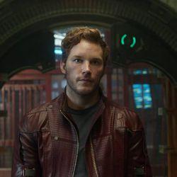"Chris Pratt stars in Marvel's ""Guardians Of The Galaxy."""