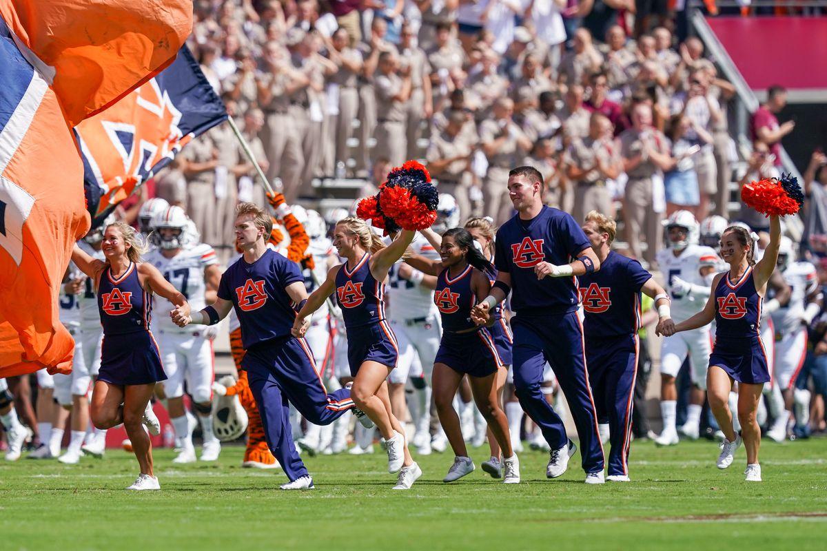 COLLEGE FOOTBALL: SEP 21 Auburn at Texas A&M