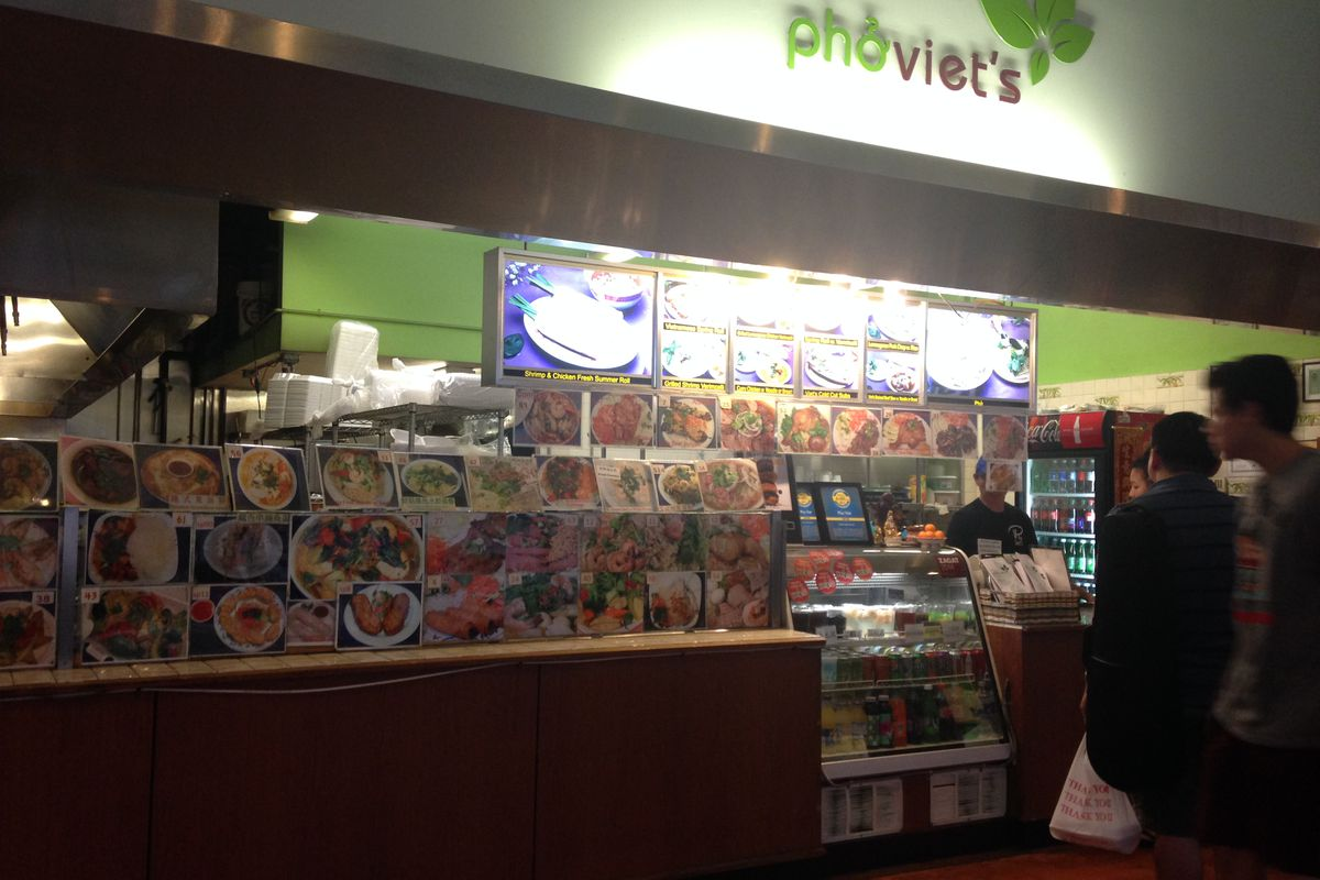 Pho Viet's at Super 88 (home of one of Boston's iconic cheap eats, a $4 banh mi).