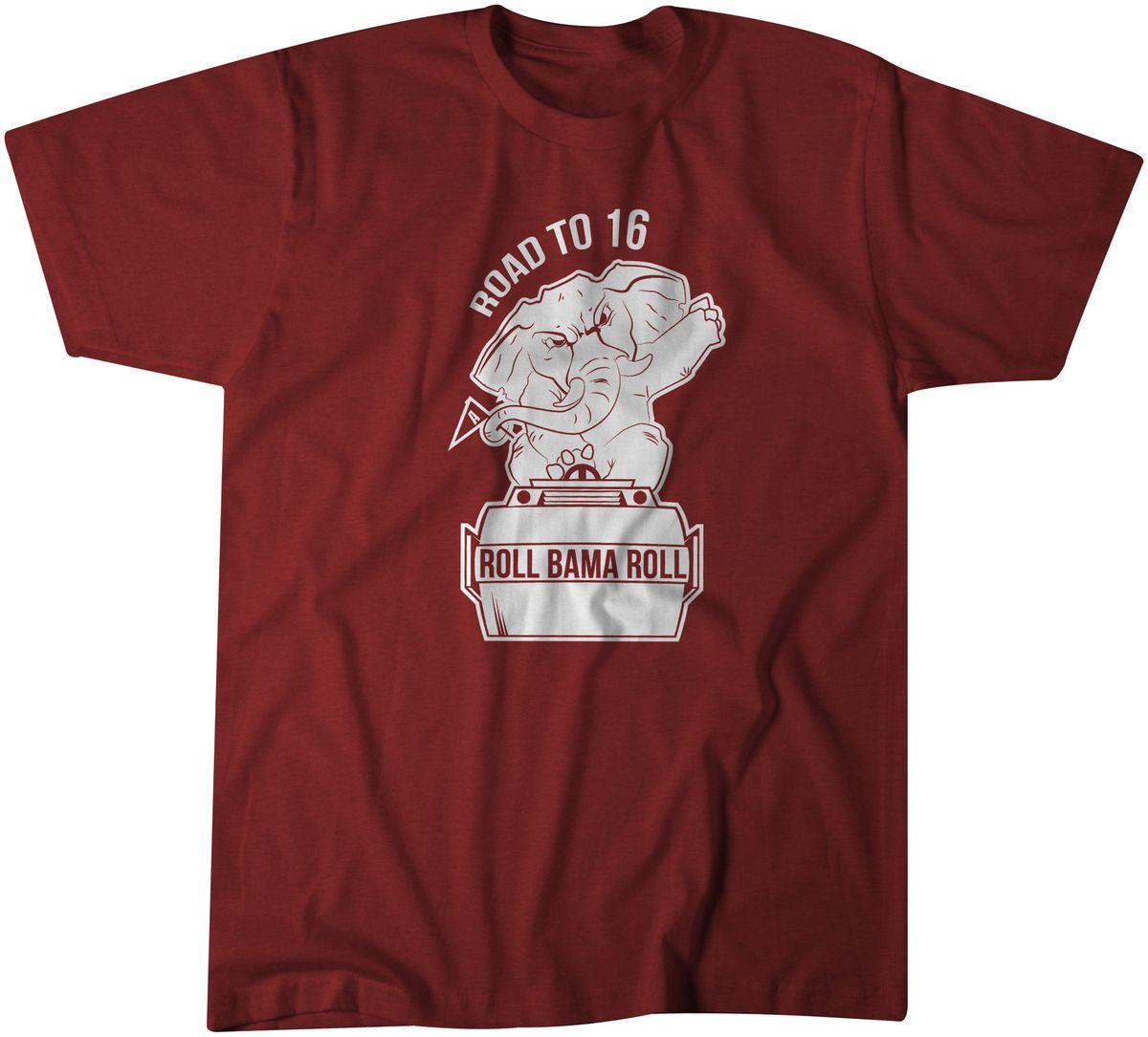 Roadto16 national championship t shirts are here roll Alabama sec championship shirt