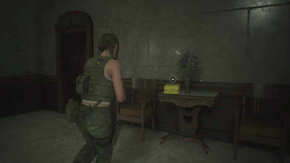 Resident Evil 22nd Run 'Lion Statue' Roll Film location