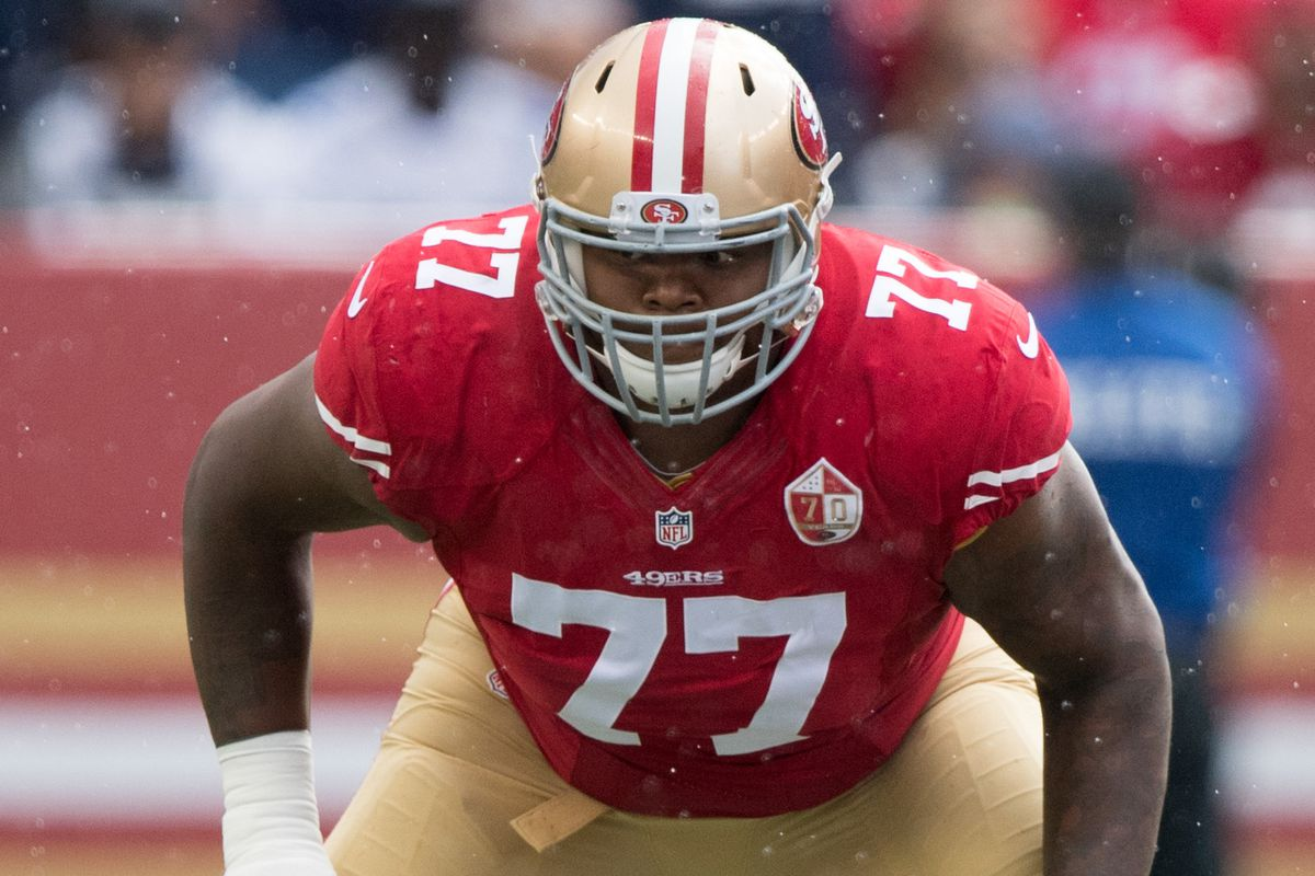 Draft rumor: Patriots engaged in trade talks for 49ers tackle Trent