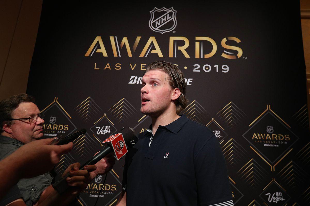 2019 NHL Awards - Nominee Media Availability