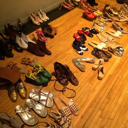 Shoes, one for $100 or three for $250