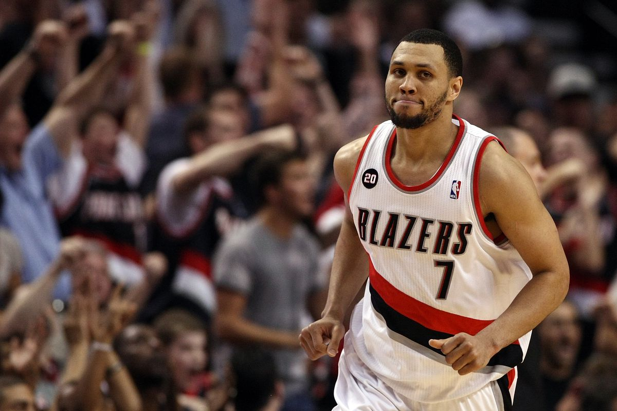NBA 2K19 Ratings for Brandon Roy, Trail Blazers' Starters