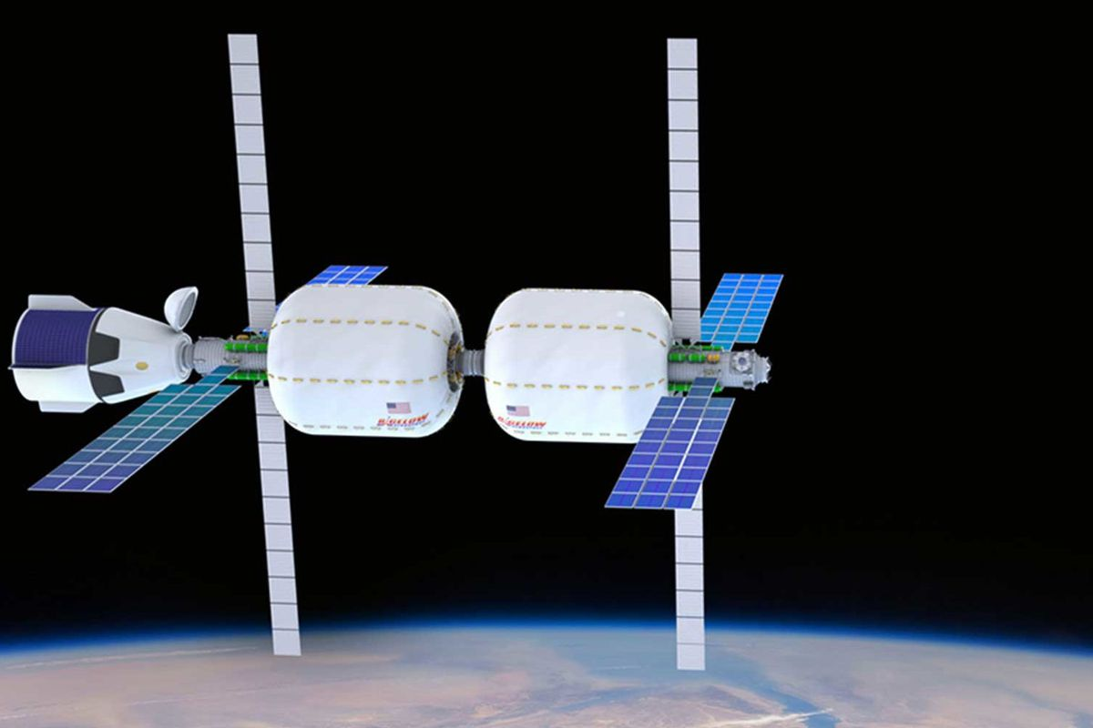 An Inflatable Space Hotel Could Launch By 2021