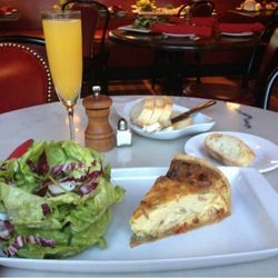 Start your Perfect Saturday off with a perfect brunch at Toulouse Cafe and Bar (3314 Knox St.). Does eating the Katy Trail Omelette count as exercise?