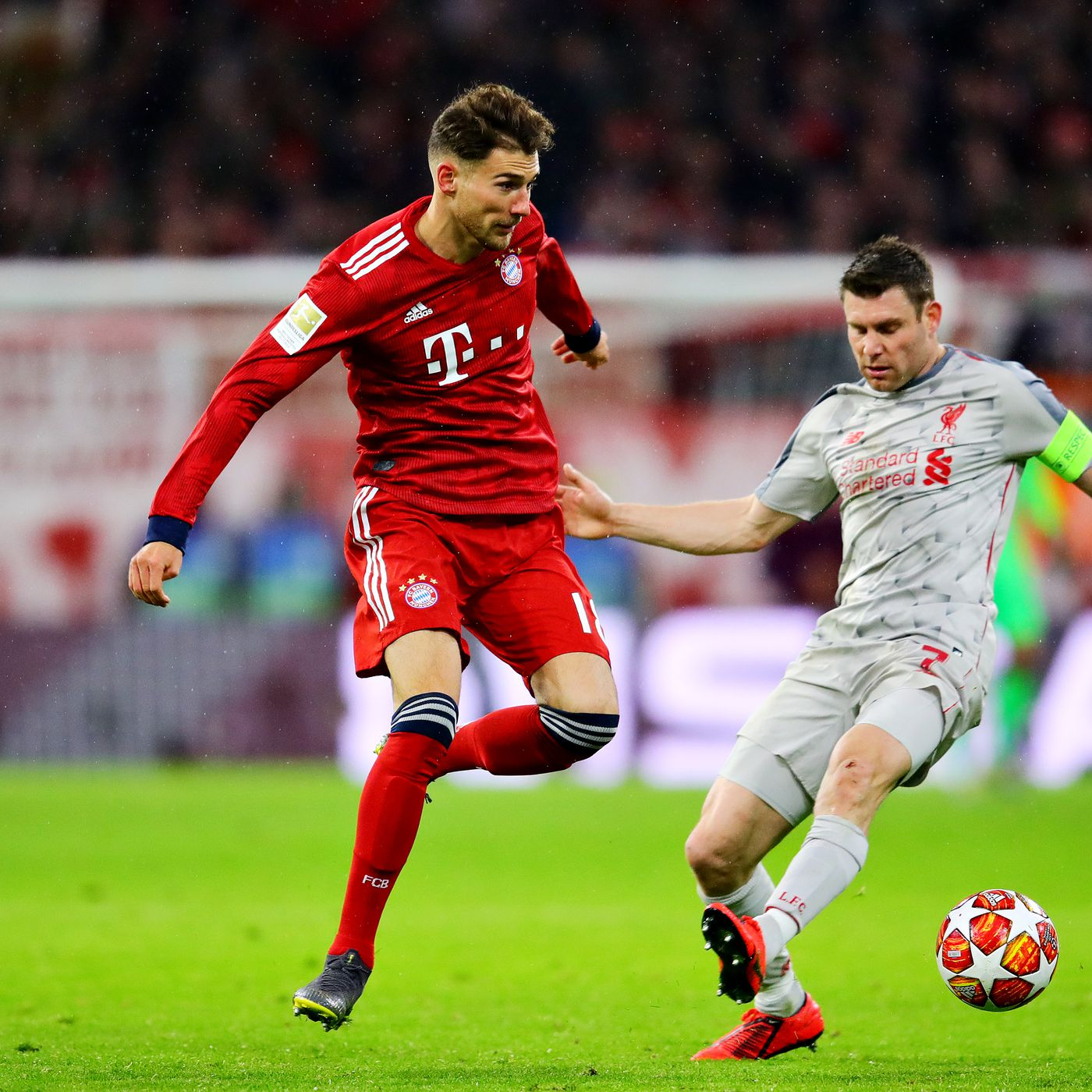 7c2550b61a973 UEFA investigating Bayern Munich and Leon Goretzka for wearing a Bundesliga  jersey in loss to Liverpool - Bavarian Football Works