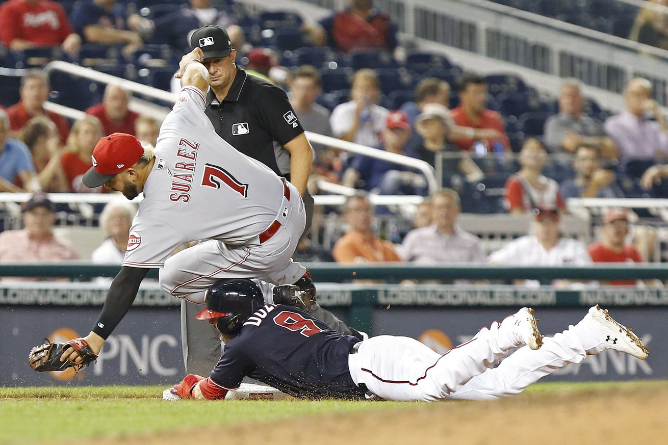 Reds at Nationals, Game 3 - Preview and Lineups