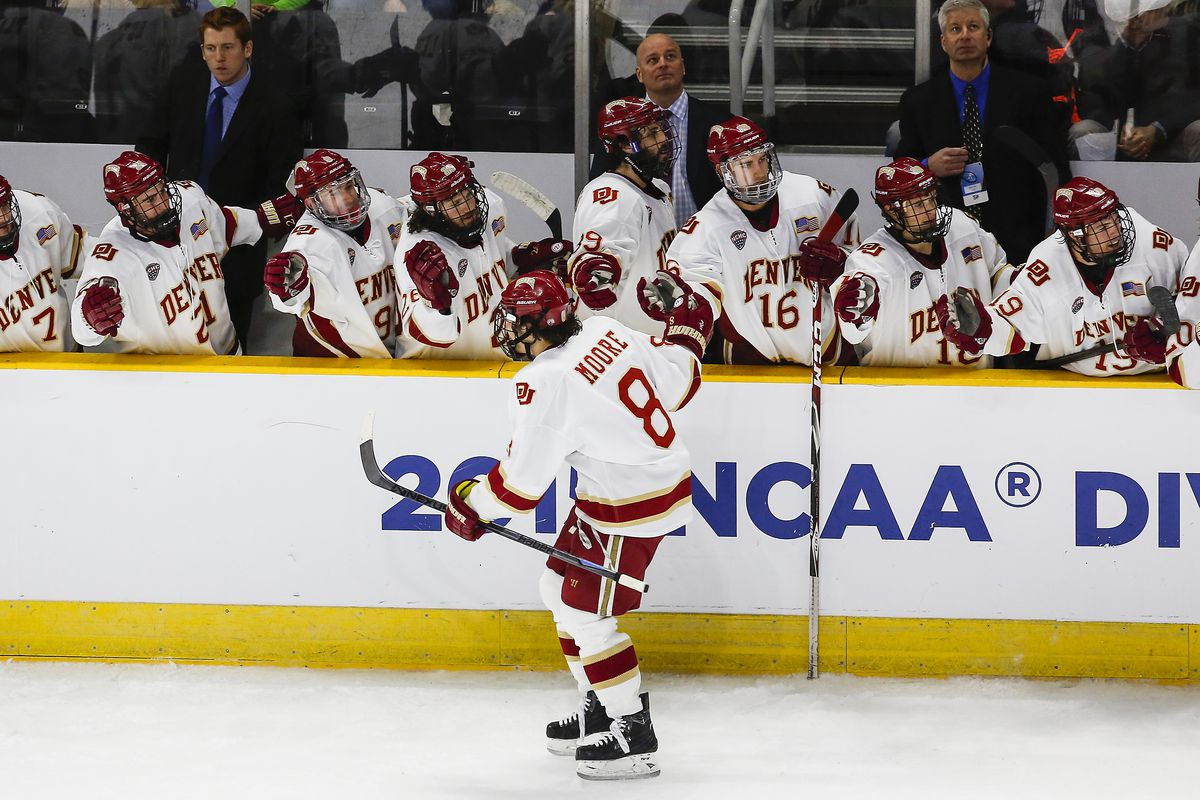 Denver is one win away from advancing to the Frozen Four in Boston, Mass.