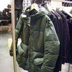 Down shaped line jacket, $169.90