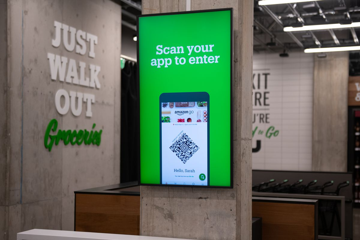 Inside The Amazon Go Grocery Store