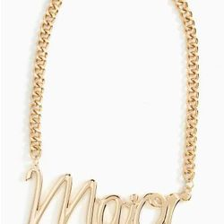"""Nasty Gal necklace, <a href=""""http://www.nastygal.com/accessories%2Djewelry/so%2Dmajor%2Dnecklace"""">$25</a>"""